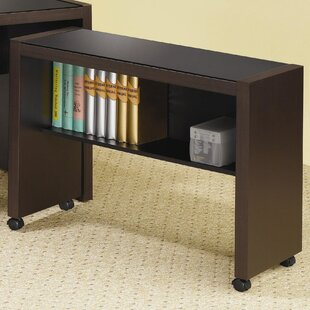 Winston Porter Keim Wood Desk with Glass ..
