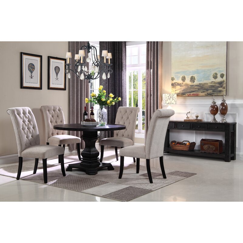 Darby Home Co Yeung 5 Piece Dining Set Reviews Wayfair