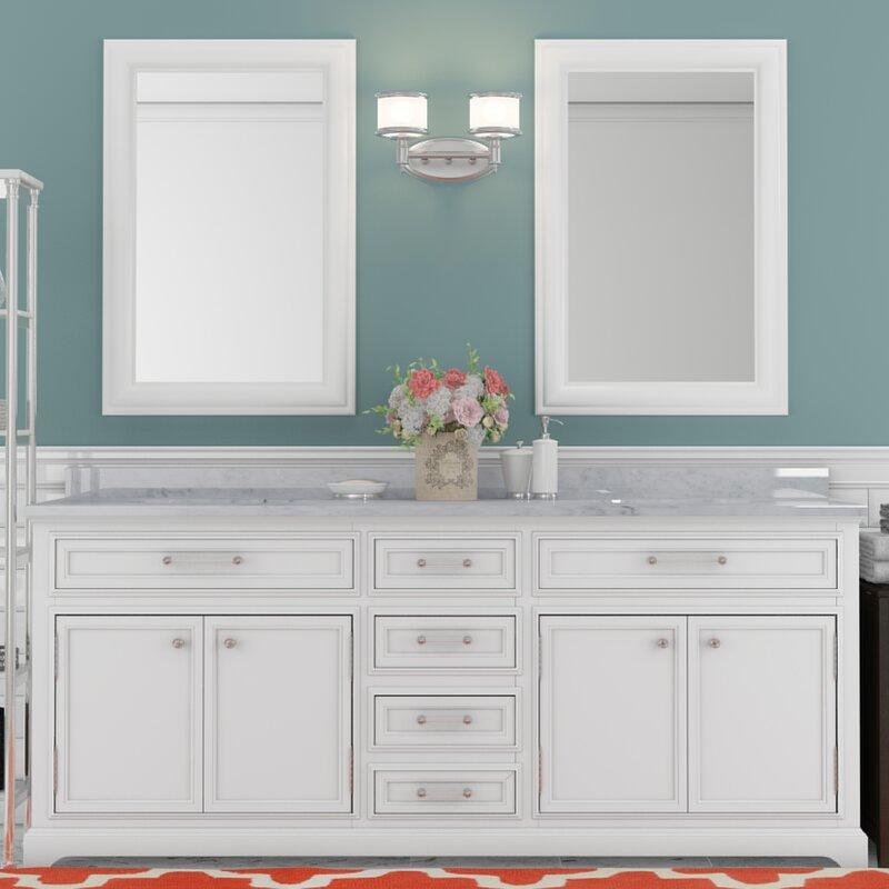 Bergin 72 Double Sink Bathroom Vanity Set
