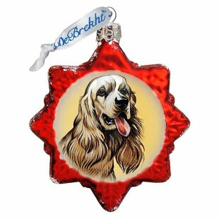 Labradoodle Shaped Ornament by The Holiday Aisle