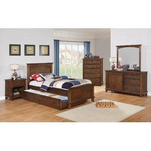 Harriet Bee Keynsham 6 Drawer Double Dresser with Mirror