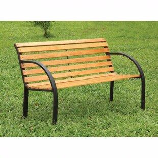 Winston Porter Conlan Wooden Garden Bench