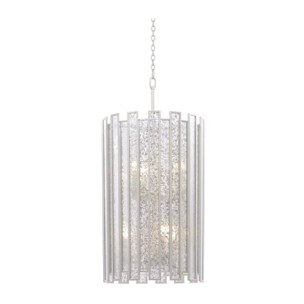 Orren Ellis Friederike 6 Light Unique Statement Cylinder Pendant Wayfair