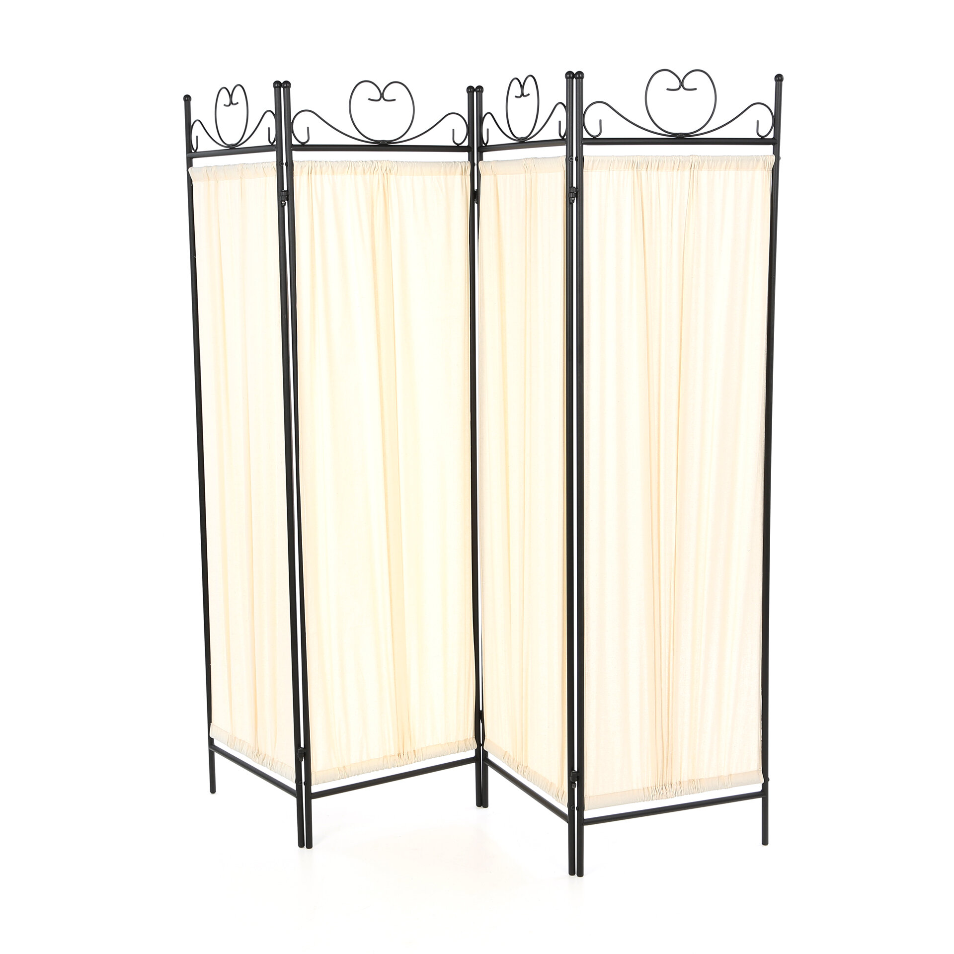 Wildon Home ® Port Angeles Butterfly 4 Panel Room Divider & Reviews ...