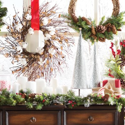 christmas decorations youll love wayfair - Inside Door Christmas Decorations
