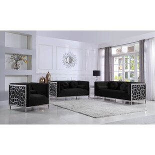 Everly Quinn Hop Configurable Living Room Set