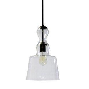 Alaia 1-Light Bell Pendant..