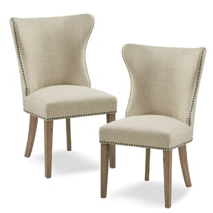 Frida Upholstered Dining Chair (Set of 2) Gracie Oaks