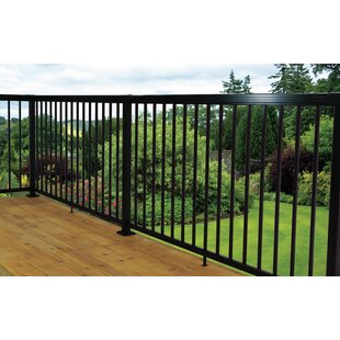 3 Ft. H X 6 Ft. W Pickets Metal Stair Railing By Vista Railing Systems Inc
