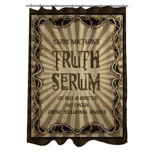 Trend Truth Serum Shower Curtain ByOne Bella Casa