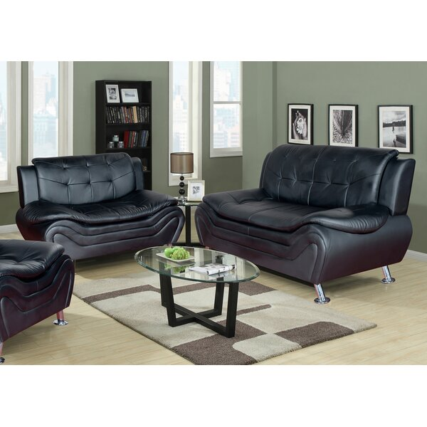 High Quality Latitude Run Algarve Leather 2 Piece Living Room Set U0026 Reviews | Wayfair Part 2