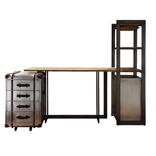 Annessia 4 Piece Pub Table Set by 17 Stories