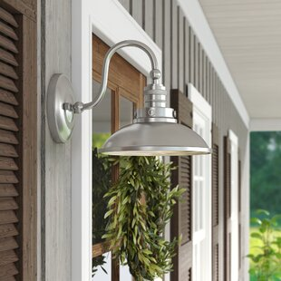 Fannie 1-Light Outdoor Barn Light by Laurel Foundry Modern Farmhouse