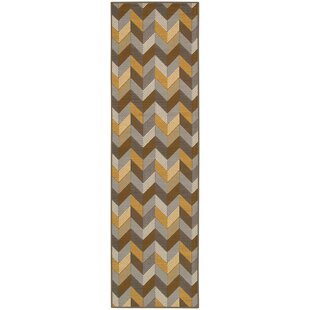 Camarena Brown/Beige/Black Indoor/Outdoor Area Rug
