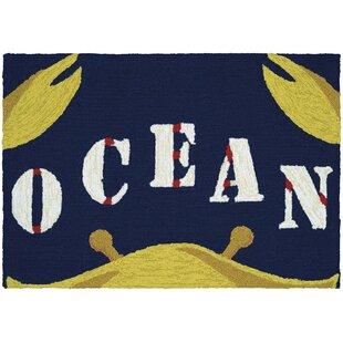 Grant Gone Crabbing Doormat by Breakwater Bay