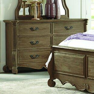 Chrysanthe 6 Drawer Double Dresser by Homelegance