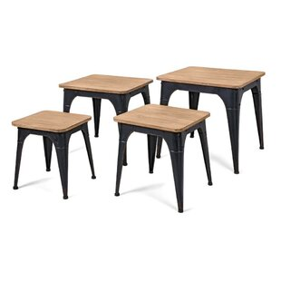 17 Stories Buiron 4 Piece Nesting Tables