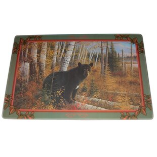 Bear Tempered Glass Cutting Board