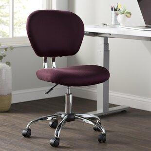 Desk Chairs Without Wheels Swivel Wayfair