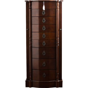 Deals Kennell Jewelry Armoire By Astoria Grand