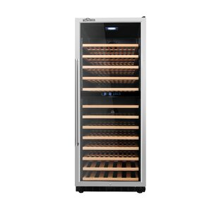 133 Bottle Built-In Dual Zone Convertible Wine Cellar