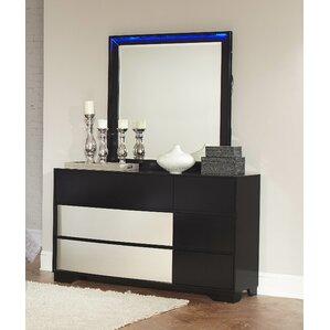 Dawna Dresser with Mirror by Orren Ellis