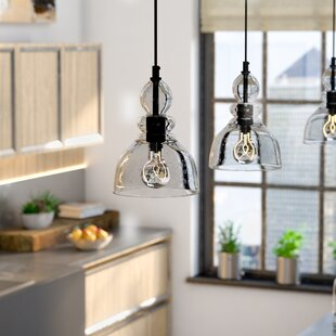 Pendant Lighting Youll Love Wayfair - Silver kitchen pendant lighting
