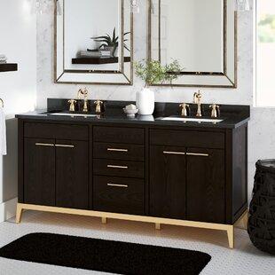 Top Reviews Goree 72 Double Bathroom Vanity Set ByGreyleigh