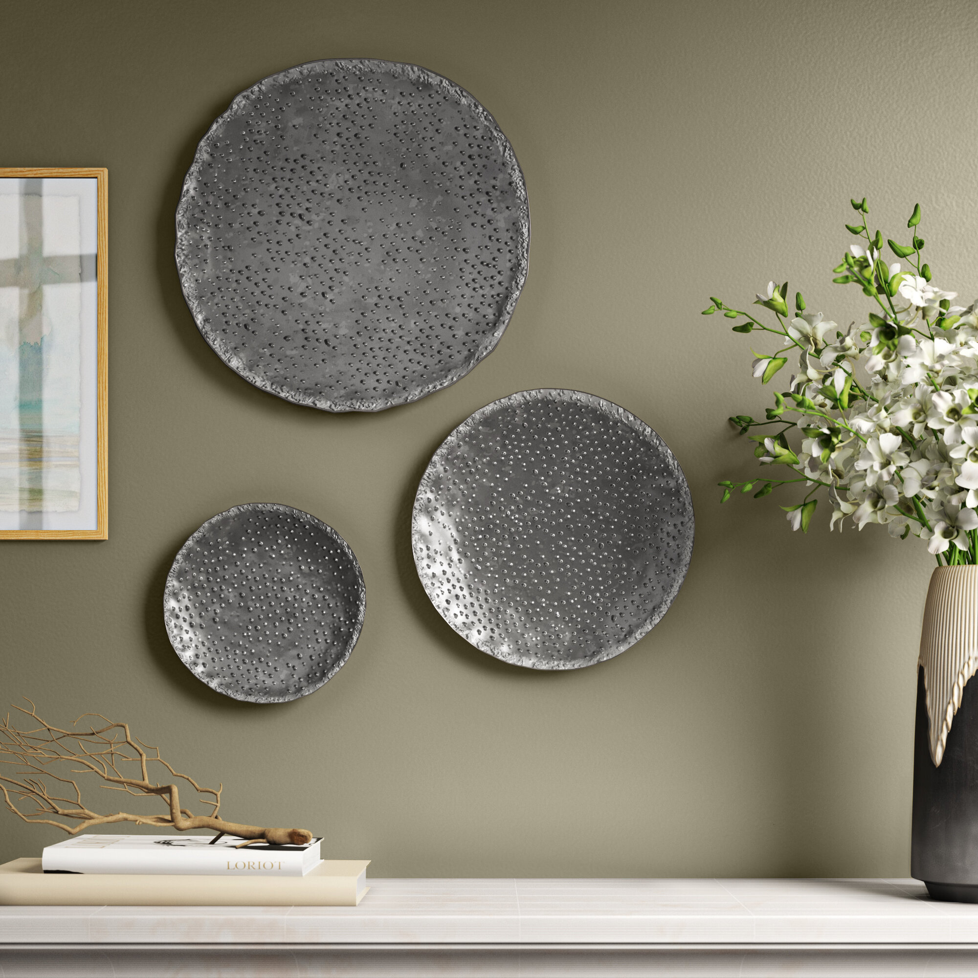 3 Piece Wall Accents You Ll Love In 2021 Wayfair