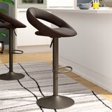 Rumi Adjustable Height Swivel Bar Stool (Set of 2) by Wade Logan®