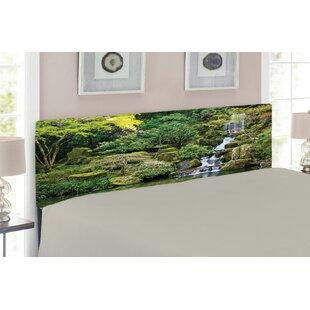 Garden Upholstered Panel Headboard by East Urban Home