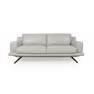 Bernice Leather Sofa