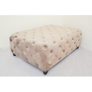 Fabric Tufted Coffee Table | Wayfair