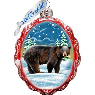 Grizzly Bear Shaped Ornament by The Holiday Aisle