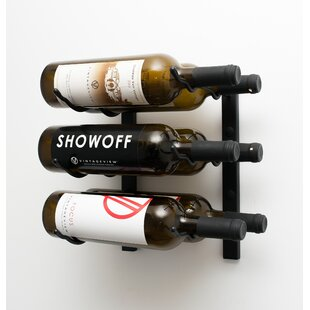 Wall Series 6 Bottle Wall Mounted Wine Ra..
