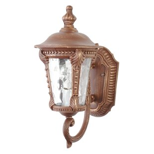 Coupon Flannigan 1-Light Outdoor Sconce By Charlton Home