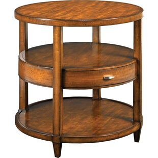 Greenwich End Table with Storage