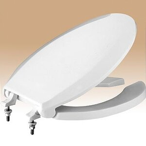 long toilet seat covers. Commercial Elongated Toilet Seat and Lid Covers  Wayfair
