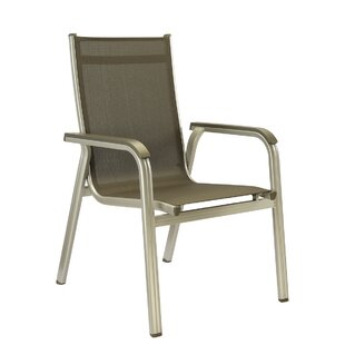 Basic Plus Stacking Patio Dining Chair (Set of 2)