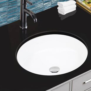 Searching for Ceramic Round Undermount Bathroom Sink with Overflow By Nantucket Sinks
