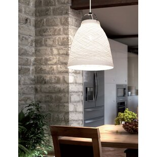 Zoe 1-Light Cone Pendant b..