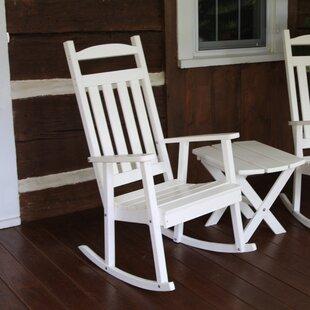 White Porch Rocker Set   Wayfair