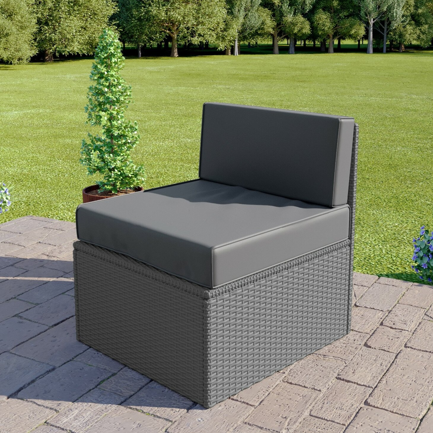 Rylee Garden Chair with Cushion