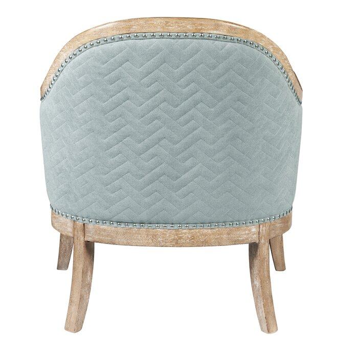 Stupendous Ziggy Wood Quilted Armchair Interior Design Ideas Clesiryabchikinfo
