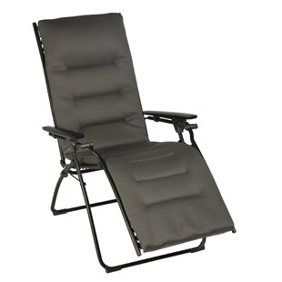 Evolution Reclining Zero Gravity Chair With Cushion