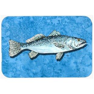 Fish - Trout Glass Cutting Board ByCaroline's Treasures