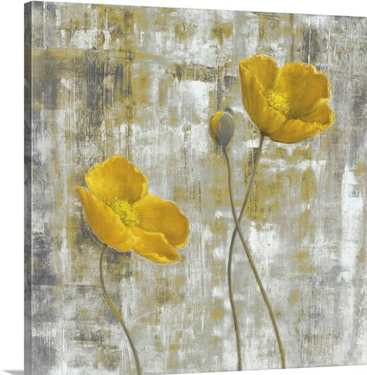 Great big canvas yellow flowers i by carol black painting print yellow flowers i by carol black painting print mightylinksfo
