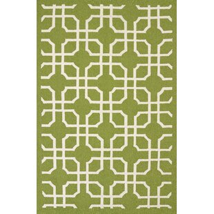 Templin Atrium Handmade Green Indoor/Outdoor Area Rug