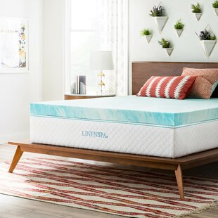 Shop 4 Gel Memory Foam Mattress Topper By Linenspa