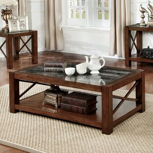 Darby Home Co Emig Coffee Table with Stor..